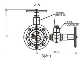 Схема АШК50х14К1(К2)
