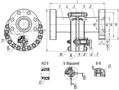 ЗД65 (Схема)