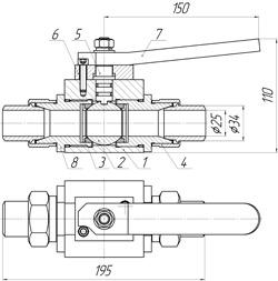 Т-КШп-25х14 (Схема)