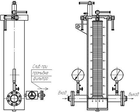 Схема УФ 100-40М5